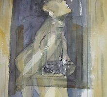 The woman in the window by Catrin Stahl-Szarka