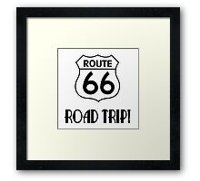 Road Trip on Route 66 Framed Print