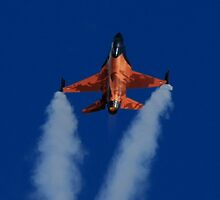 F16 from the Royal Netherlands Air Force  by Ken McKillop