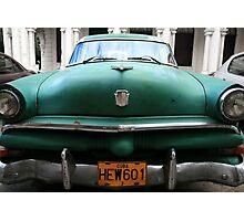 """Coche Americano"" La Habana, Cuba Photographic Print"