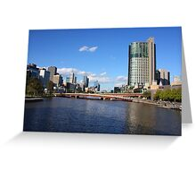 Architectural View of Melbourne Greeting Card