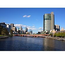 Architectural View of Melbourne Photographic Print