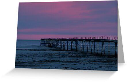 The Pier - Saltburn (Split Toned) by Trevor Kersley