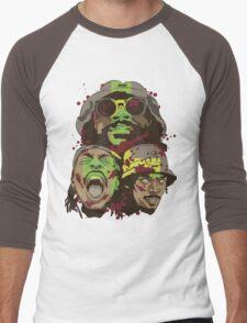 The Glorious Dead Present Zombies by Flatbush Men's Baseball ¾ T-Shirt