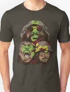 The Glorious Dead Present Zombies by Flatbush T-Shirt
