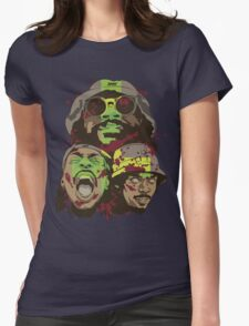 The Glorious Dead Present Zombies by Flatbush Womens Fitted T-Shirt