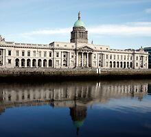 Custom House Dublin by Joe  Burns