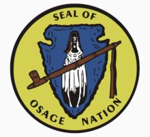 Seal of the Osage Nation One Piece - Short Sleeve