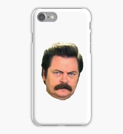 Ron face iPhone Case/Skin