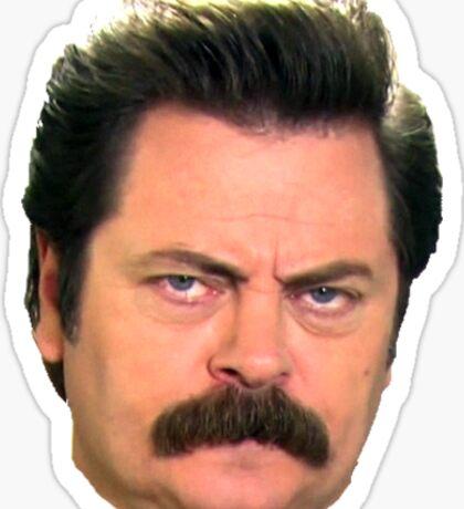 Ron face Sticker