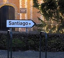 Santiago, next stop??? by Hans Bax