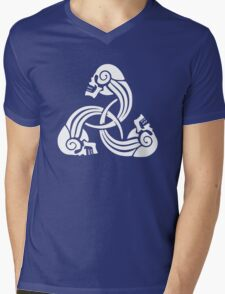 Bound Until Death Mens V-Neck T-Shirt
