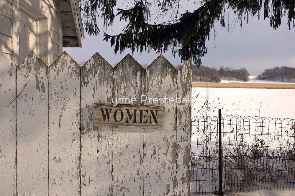 .....outhouse.... by Lynne Prestebak