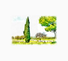 Paestum: archaeological site with trees Unisex T-Shirt