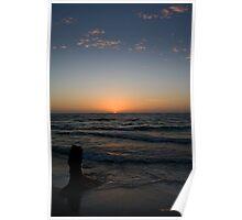 Western Australia the sunset coast Poster