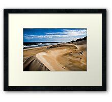 Dune Shades... Framed Print