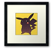 Pokemon - Space Pikachu Design Framed Print