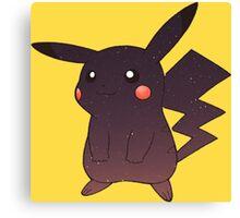 Pokemon - Space Pikachu Design Canvas Print