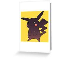 Pokemon - Space Pikachu Design Greeting Card