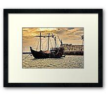 Caravel Principe Regente Framed Print