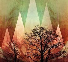 TREES under MAGIC MOUNTAINS Ia by Pia Schneider