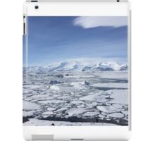 Iceland Photography Icy square  iPad Case/Skin