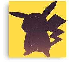 Pokemon - Pikachu Space Design Canvas Print