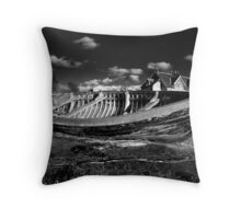 Coble, Alnmouth, 2009 Throw Pillow