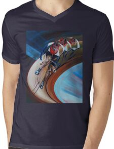 Velocity GB Mens V-Neck T-Shirt