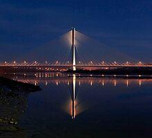 Sunset Bridge by Kevin Hayden Paris