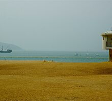 Lifeguard Tower at Mui Wo by Frank Donnoli