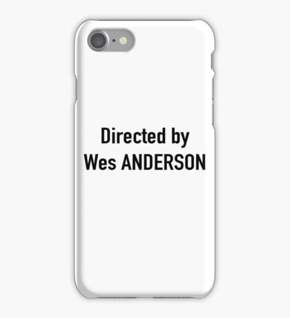 wes anderson iPhone Case/Skin