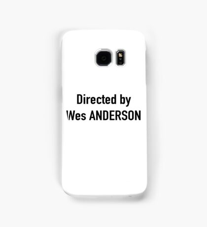 wes anderson Samsung Galaxy Case/Skin