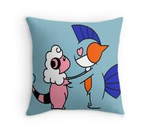 Pokemon Love Throw Pillow