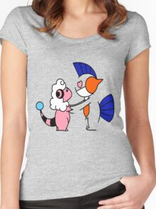 Pokemon Love Women's Fitted Scoop T-Shirt
