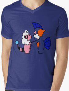 Pokemon Love Mens V-Neck T-Shirt