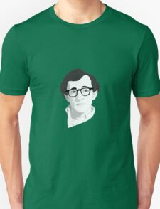 Portrait of Woody Allen Unisex T-Shirt
