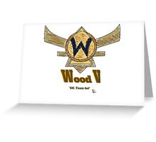 Paxton Rome - League of Legends Wood V Greeting Card