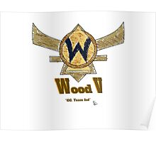 Paxton Rome - League of Legends Wood V Poster