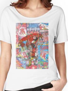 Vintage Comic Flash Women's Relaxed Fit T-Shirt