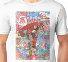 Vintage Comic Flash Unisex T-Shirt