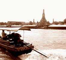 The Chao Praya Route by Pippa Carvell
