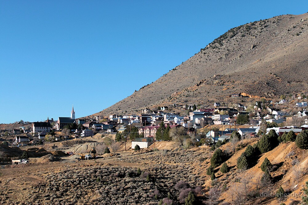 Virginia City by doubleheader