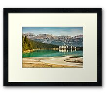 The Fairmont Chateau, Lake Louise Framed Print