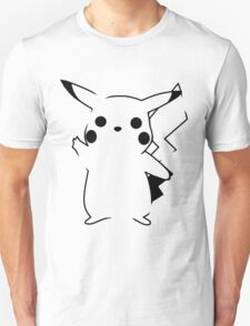 Pikachu - Black T-Shirt
