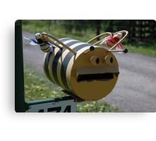 Bee Mail - NSW Canvas Print