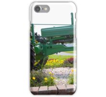 ANTIQUE JOHN DEERE TRACTOR iPhone Case/Skin