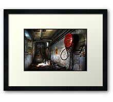 'X' the Unknown Framed Print