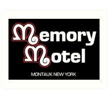 Memory Motel Art Print