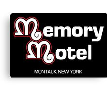 Memory Motel Canvas Print